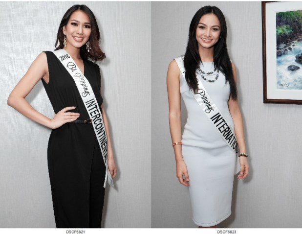 2016 Bb Pilipinas International Kylie Verzosa and Intercontinental Jennifer Hammond