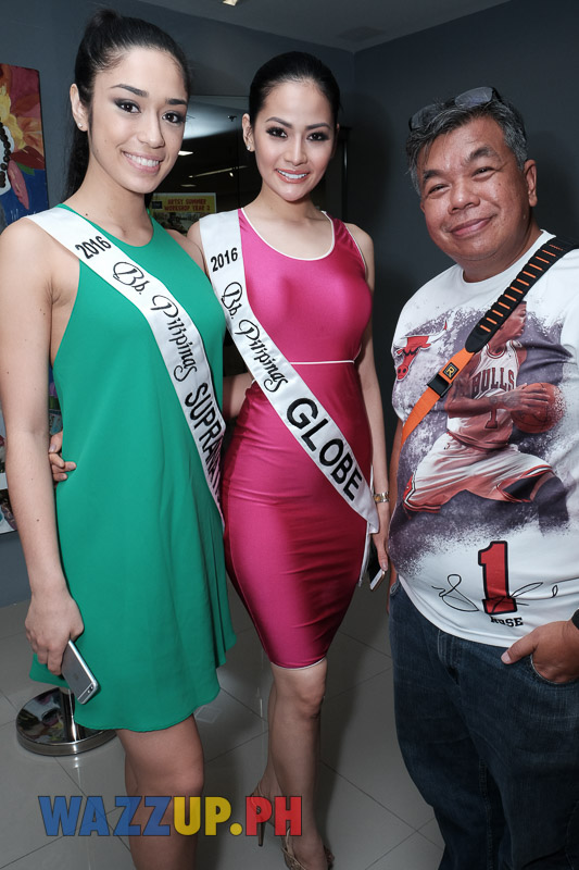 Interviews with 2016 Bb Pilipinas Supranational Joanna Eden & Globe Nichole Manalo-6808