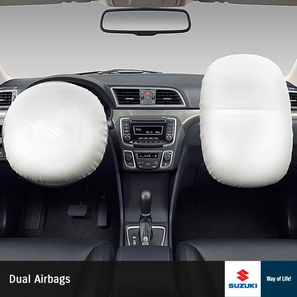 Suzuki Ciaz dual airbag
