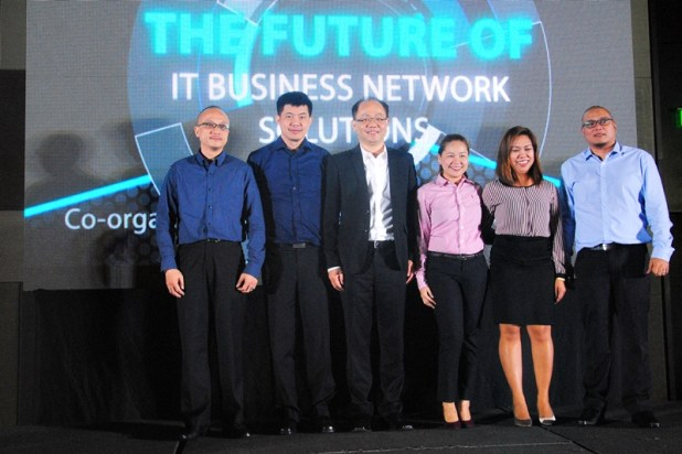 D-Link Philippines Business Development Manager Tham Hon Keong, D-Link Regional Sales Director Christopher Neo, D-Link International President Jacky Chang, D-Link Philippines Channel Head for Retail, D-Link Philippines Channel Head for SMB and D-Link Philippines Network Engineer Vincent Varias were present during the event.