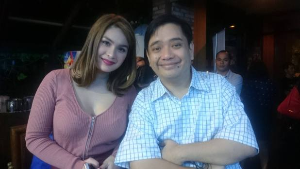 with the lovely Pauleen Luna