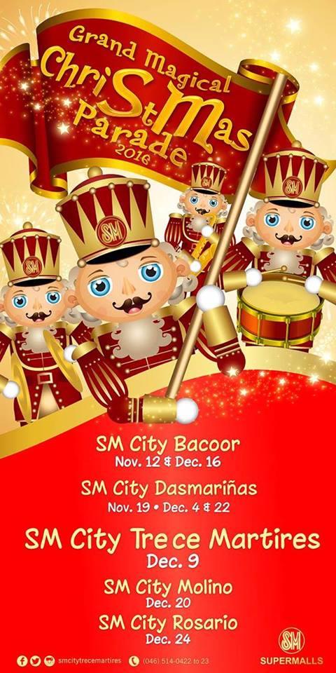 sm-cavite-grand-magical-christmas-parade-schedule