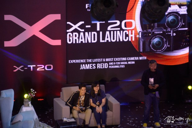 2017.03.11 Fujifilm Philippines Launches the X-T20, with James Reid as guest (4)
