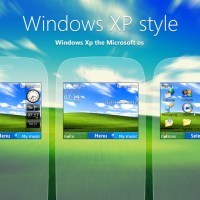 Nokia C3-00 X2-01 Asha 200 themes Windows XP style