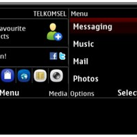 Default Black theme for Nokia C3-00 and X2-01