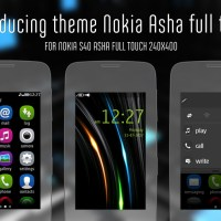 Introducing new theme for Nokia Asha full touch Asha-311 Asha-305