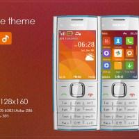 MIUIV6 style theme s40 X2-00 240x320 s40