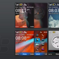 BlackBerry 10 and classic theme X2-00 240x320 s40