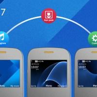 Galaxy 7 style theme Asha 302 320x240 s40
