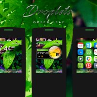 Droplets theme X2-00 X3-00 s40 240x320