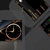 Premium Gold theme asha 302 210 205 200 201 C3-00 X2-01 320x240