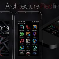 Architecture red line theme s40 240×400 Asha full touch