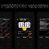 Phantom gaming swf live theme X2-00 X3-00 5310