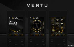 Vertu ui in our design theme for Nokia X2-00 X2-02 with swf analog clock