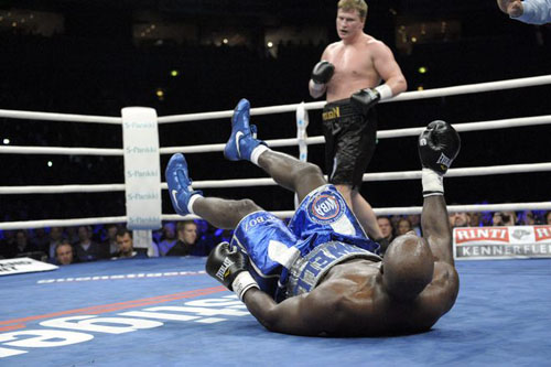 Povetkin stops Boswell