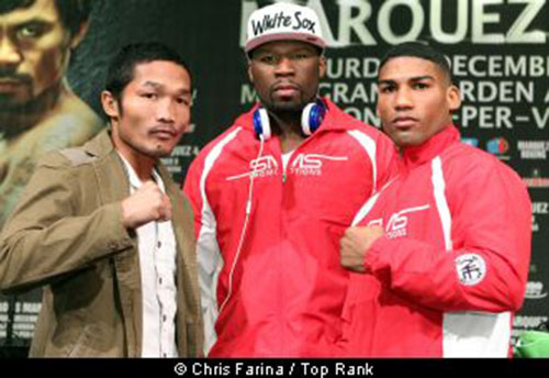 Gamboa – Farenas make weight