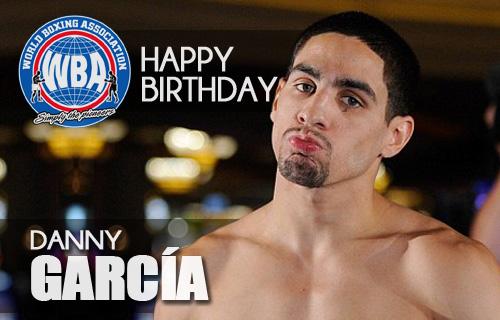 Happy Birthday to our Super Campion Danny García