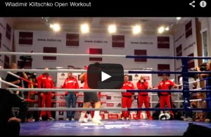 Wladimir Klitschko Open Workout