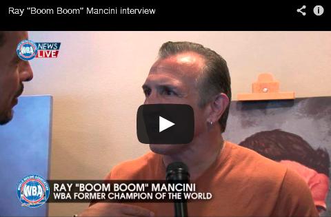 """Video: Ray """"Boom Boom"""" Mancini entrevista"""