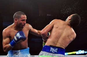 Ward - Rodriguez. Photos BoxingScene.com