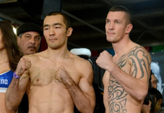 Photos/Weights: Beibut Shumenov vs Tamas Kovacs
