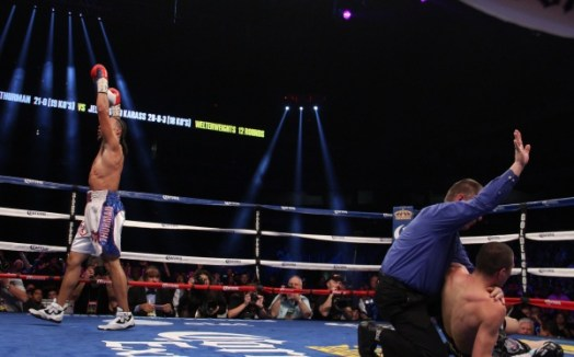 Keith Thurman is ready for his second defense