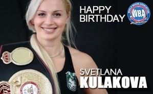Happy Birthday Svetlana Kulakova