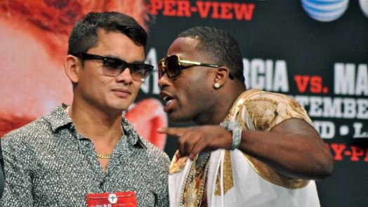 Laurence Cole is the third man in the Broner vs Maidana