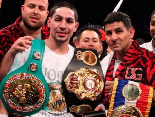 García retained his belt in Puerto Rico