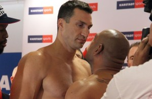 Photos: Klitschko - Leapai Weigh-in