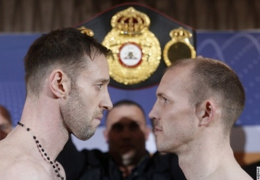 Photos/Weights: Braehmer, Maccarinelli Ready For War