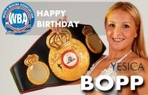 """Happy Birthday Yesica """"La Tutti"""" Bopp"""