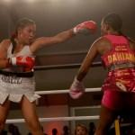 Dahiana Santana (DOM) vs Francia Bravo (COL) - WBA Featherweight Interim championship