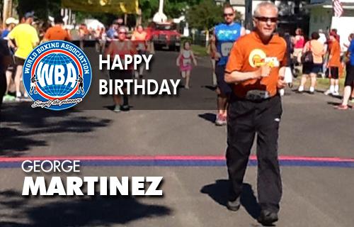 Happy Birthday George Martínez