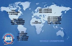 WBA totals 34 champions