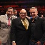 Julio Thyme, Ricardo Rizzo and Gilberto Mendoza