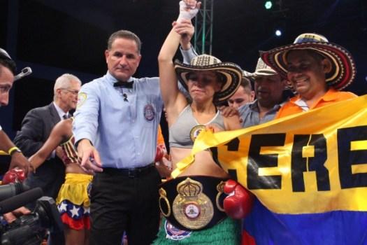 Liliana Palmera is the new Super Bantamweight interim champion