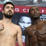 Andre Berto - Josesito Lopez weigh-in