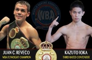 Juan Carlos Reveco vs Kazuto Ioka