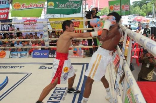 Knockout CP Freshmart KOs Alexis Diaz