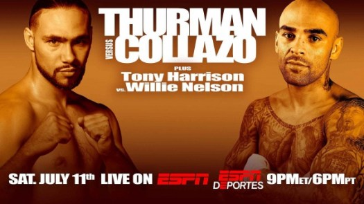 Keith Thurman Defends WBA Welterweight Title July 11