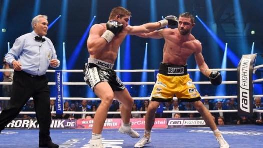 Feigenbutz Retains Interim WBA Title