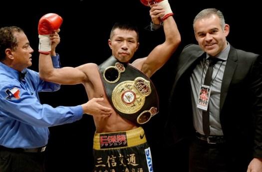 Uchiyama, a great WBA champion who retires