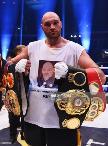 Tyson Fury – Boxer of the month – November 2015