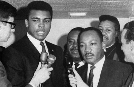 Estados Unidos celebra el Día de Matin Luther King gran amigo de Ali