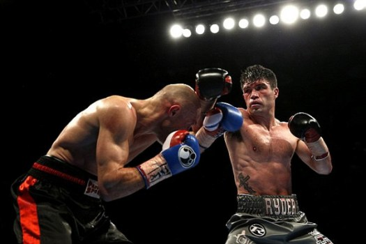 Ryder Wins WBA International Middleweight Title