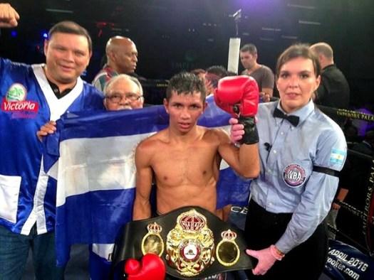 Byron Rojas, Minimumweight mandatory challenger