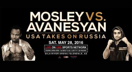 Mosley vs. Avanesyan Preview