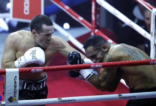 Lebedev Ices Ramirez at the Ice Palace