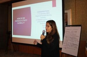 Shivana Inalsingh, directora del Comité de Campeonatos Femeninos